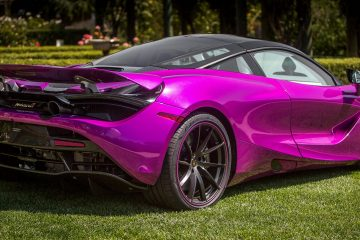 FUX FUCHSIA McLaren 720S by MSO Whips Heads at The Quail