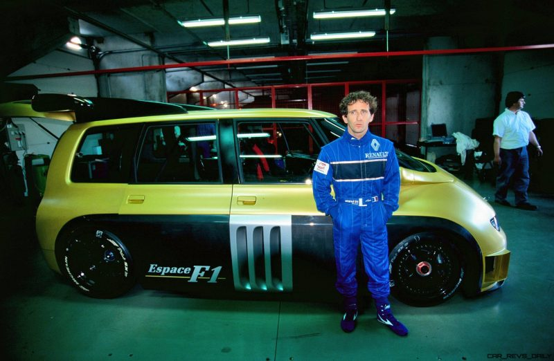 RENAULT ESPACE F1 PROST TESTING