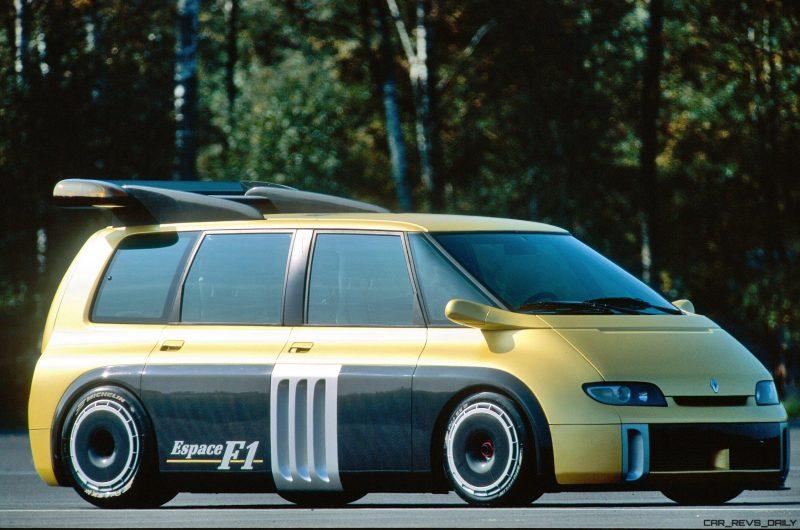 Concept Flashback - 1994 Renault Espace F1 [38 Photos ...
