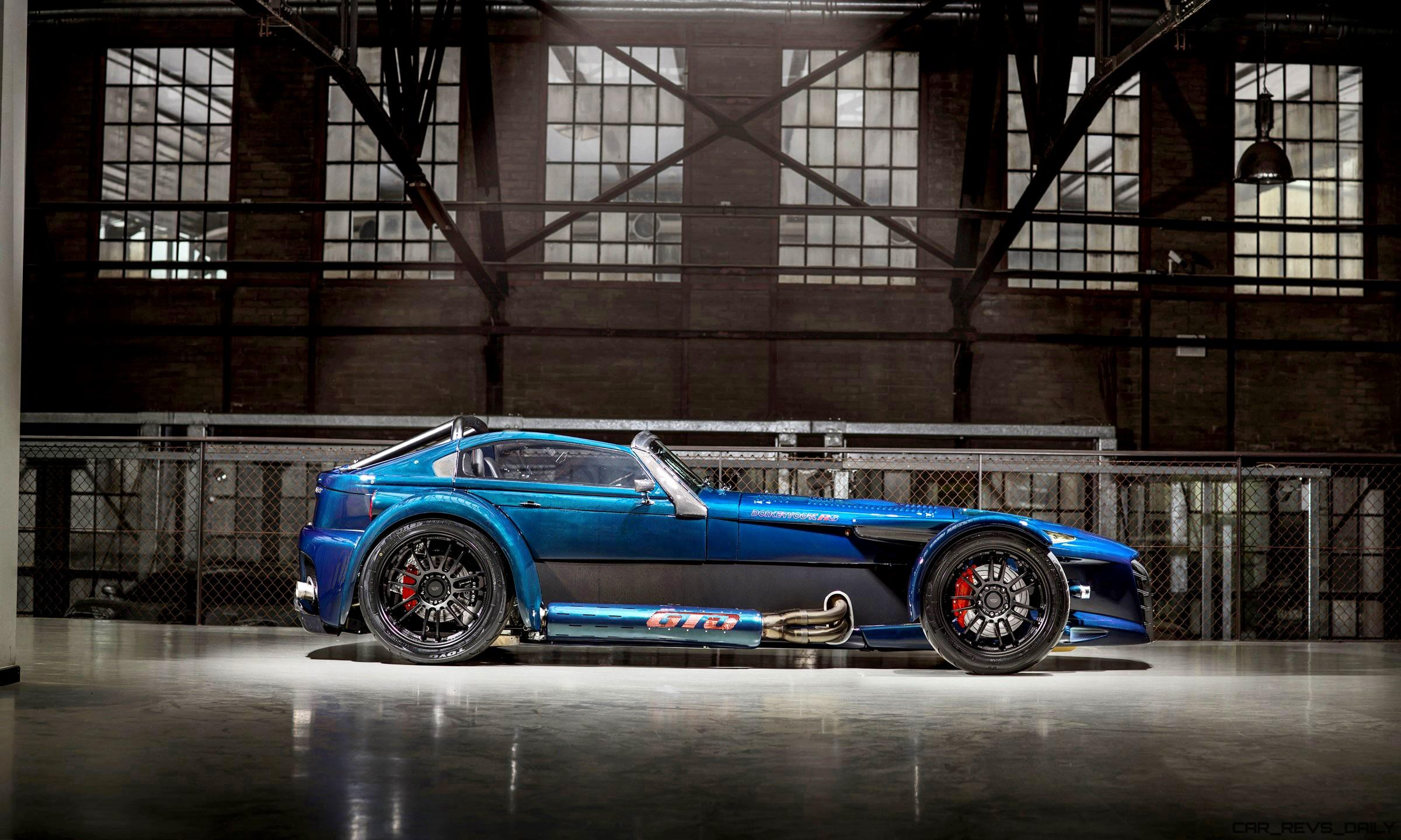 2017 Donkervoort D8 GTO RS Bare Naked Carbon Edition » CAR