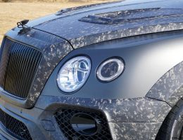 2017 MANSORY BENTAYGA Introduces Forged-Carbon Widebody