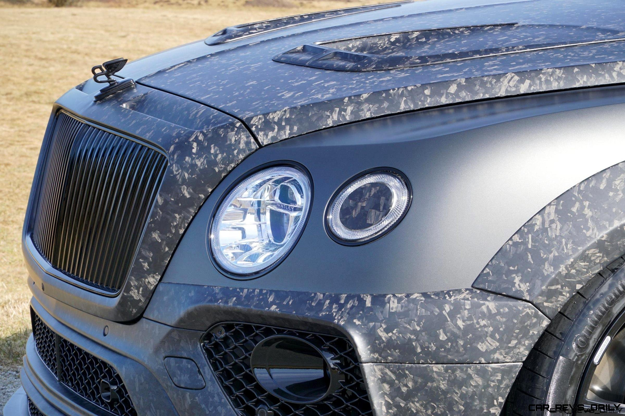 2017 Mansory Bentayga Introduces Forged Carbon Widebody