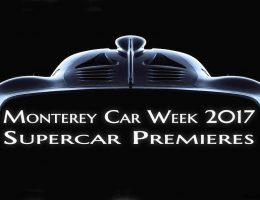 2017 Monterey Car Week REVEALS List – Pebble Beach, The Quail & Concorso Italiano