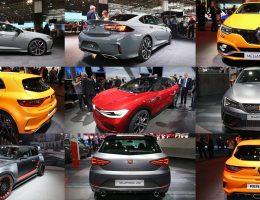 Frankfurt IAA 2017 – SEAT, VW, Opel, Mini and Renault