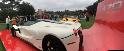 2017 Ferrari 70 Anni Collection at Pebble Beach Concours 4