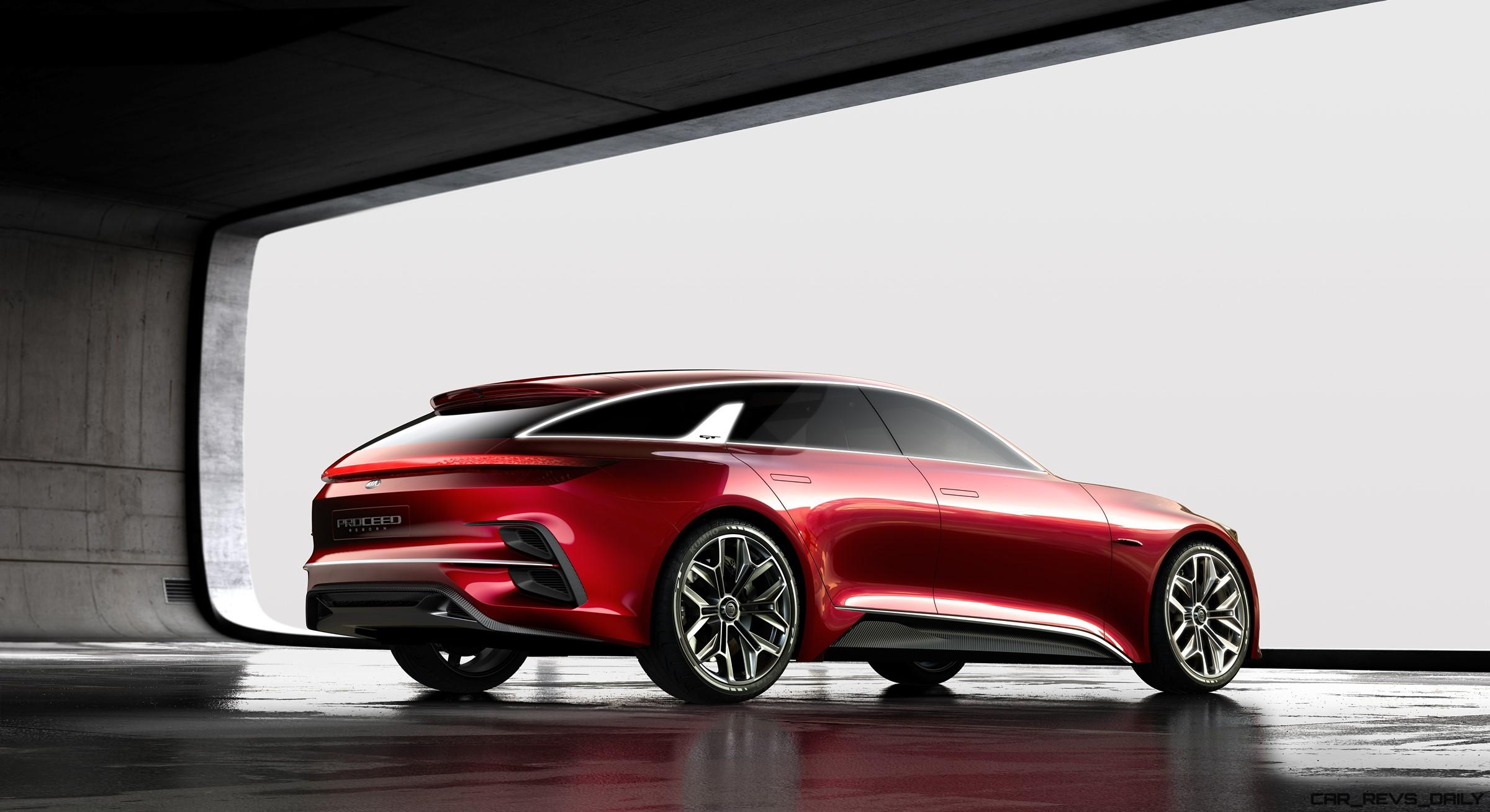 2017 KIA Proceed Concept Brings Hot-Wagon Style To