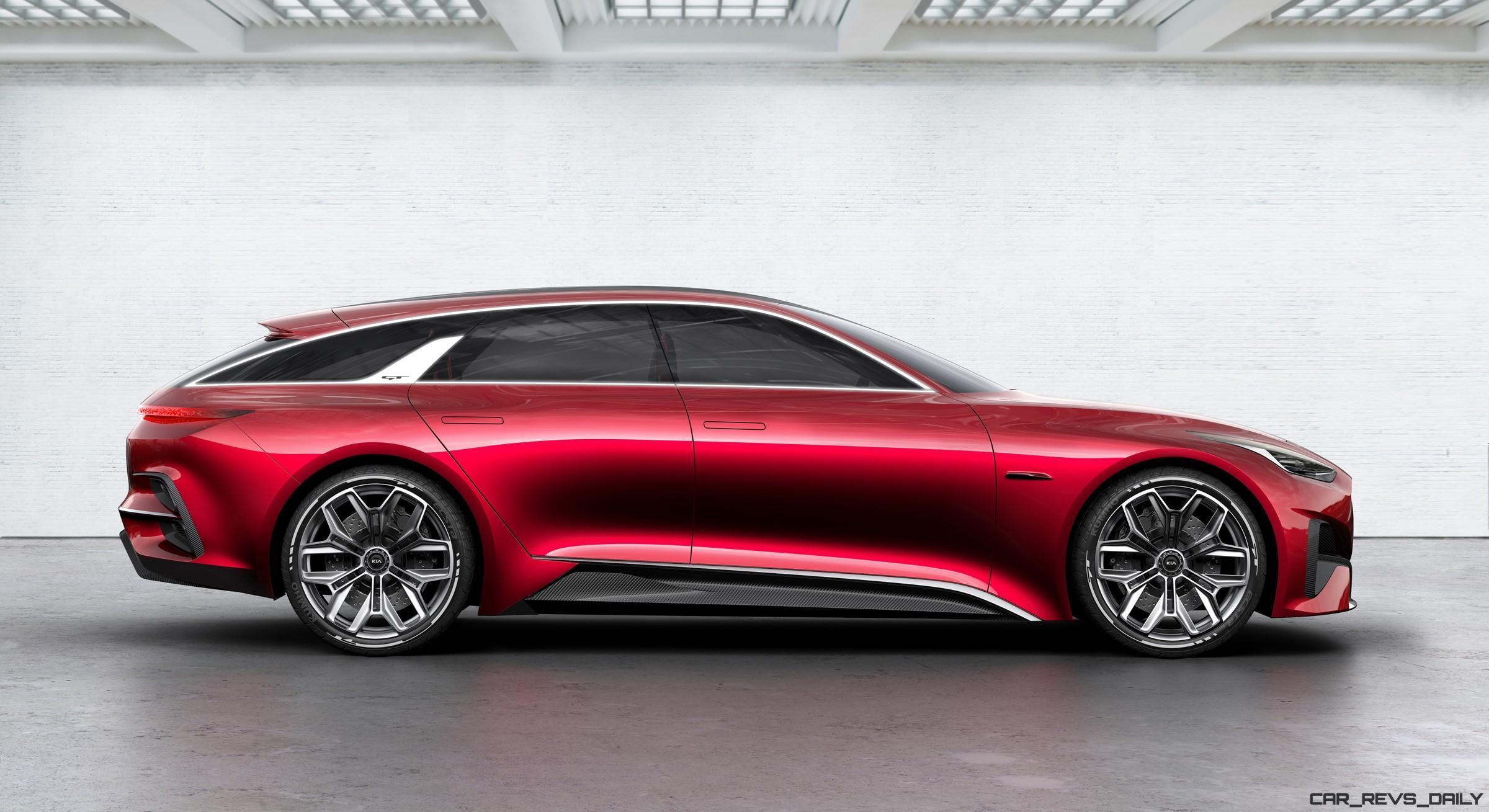 Luxury Sports Cars >> 2017 KIA Proceed Concept Brings Hot-Wagon Style to Frankfurt