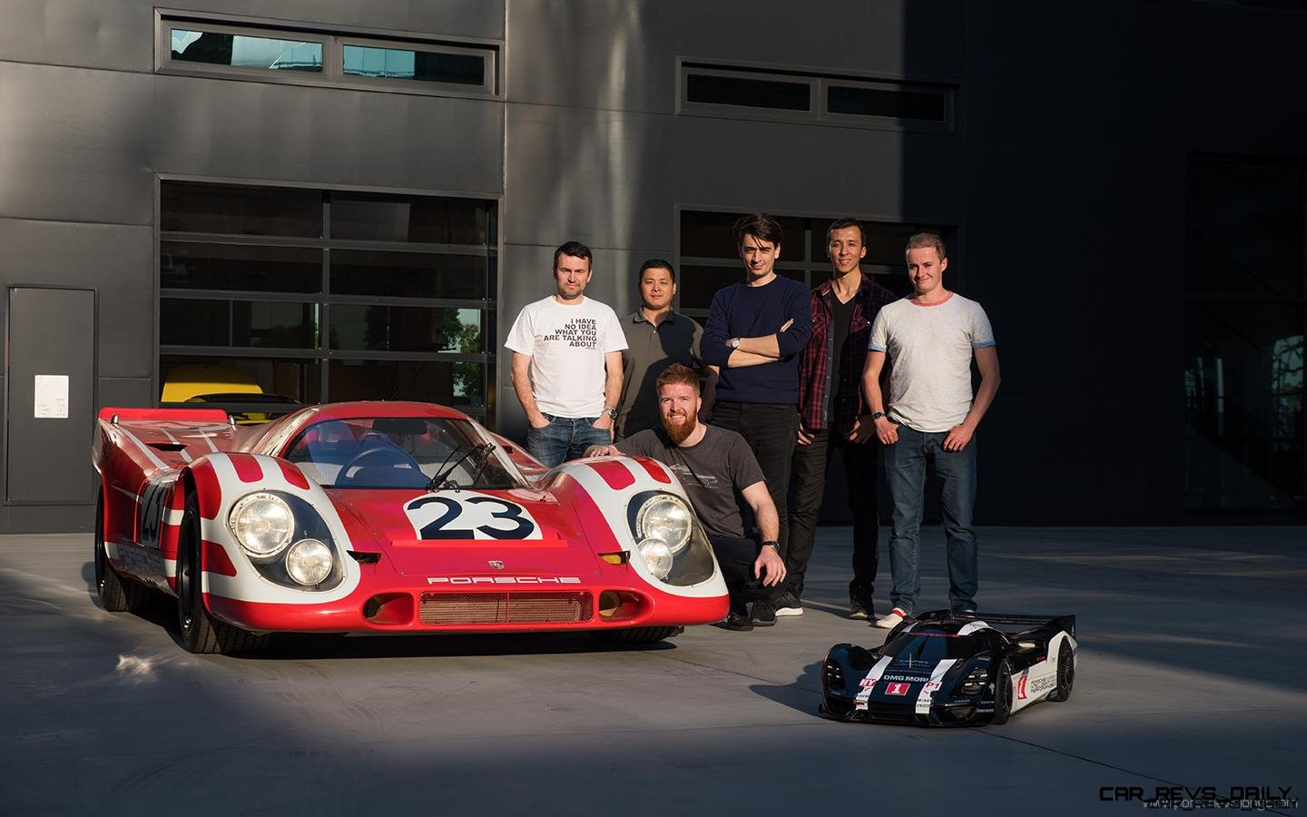 Part Two – 2017 Porsche 908 RSR Vision GT Hommage Meets 919 and 917K