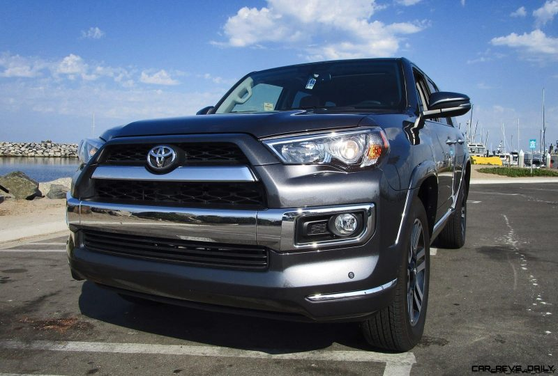 2017 toyota 4runner limited 4x4 road test review by ben lewis
