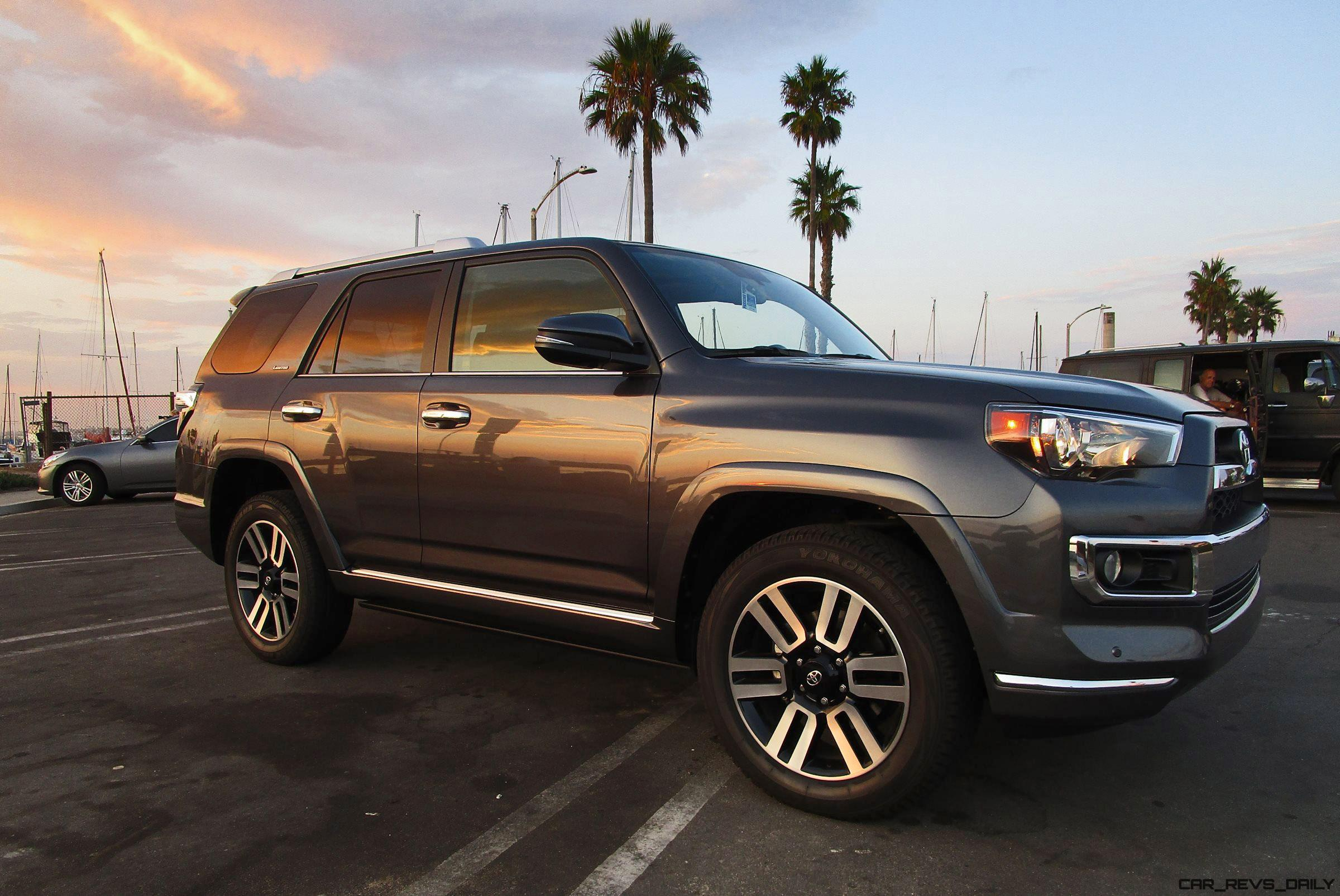 2017 toyota 4runner limited 4x4 road test review by ben lewis. Black Bedroom Furniture Sets. Home Design Ideas