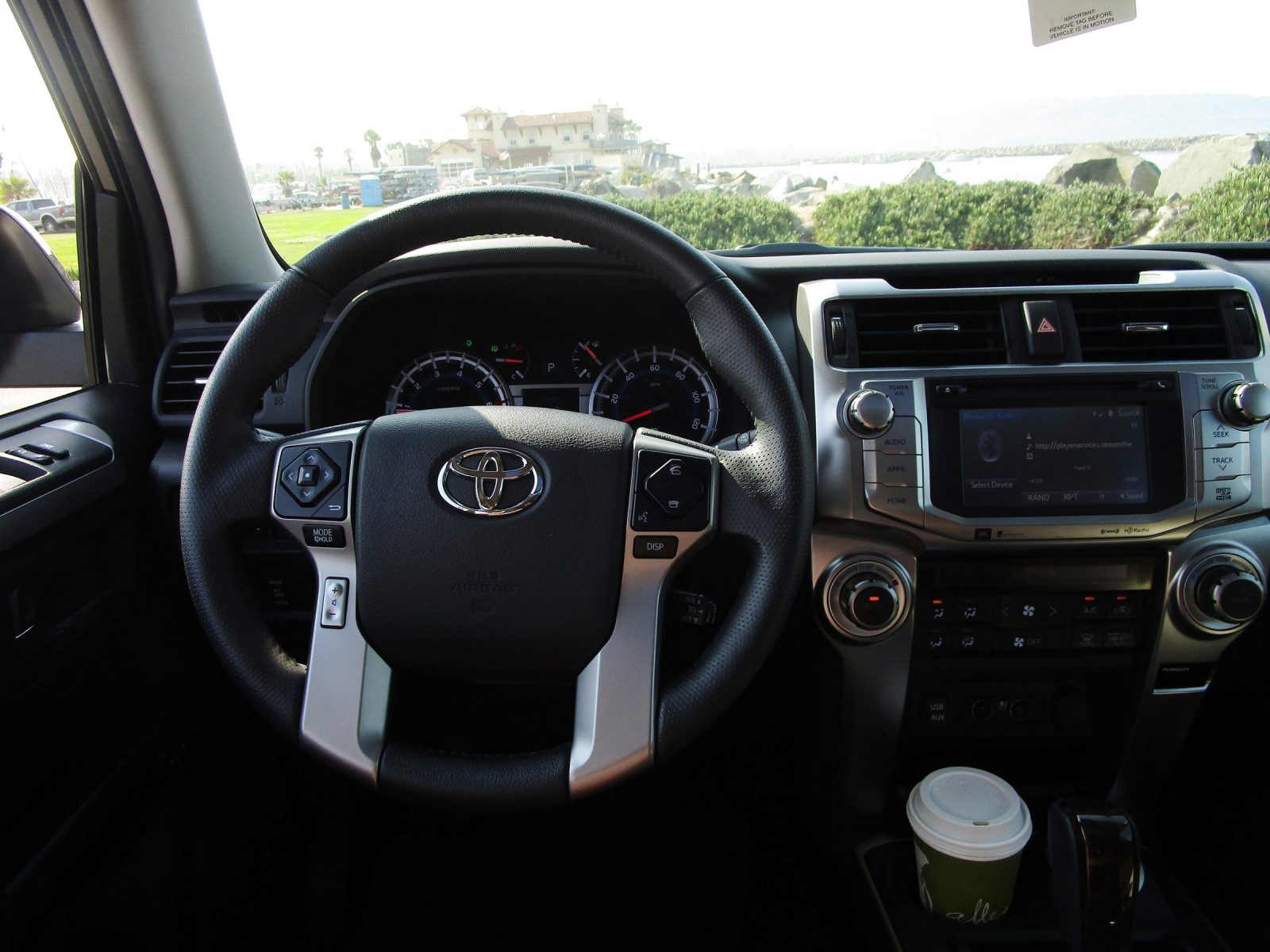 2017 Toyota 4runner Limited Interior 11