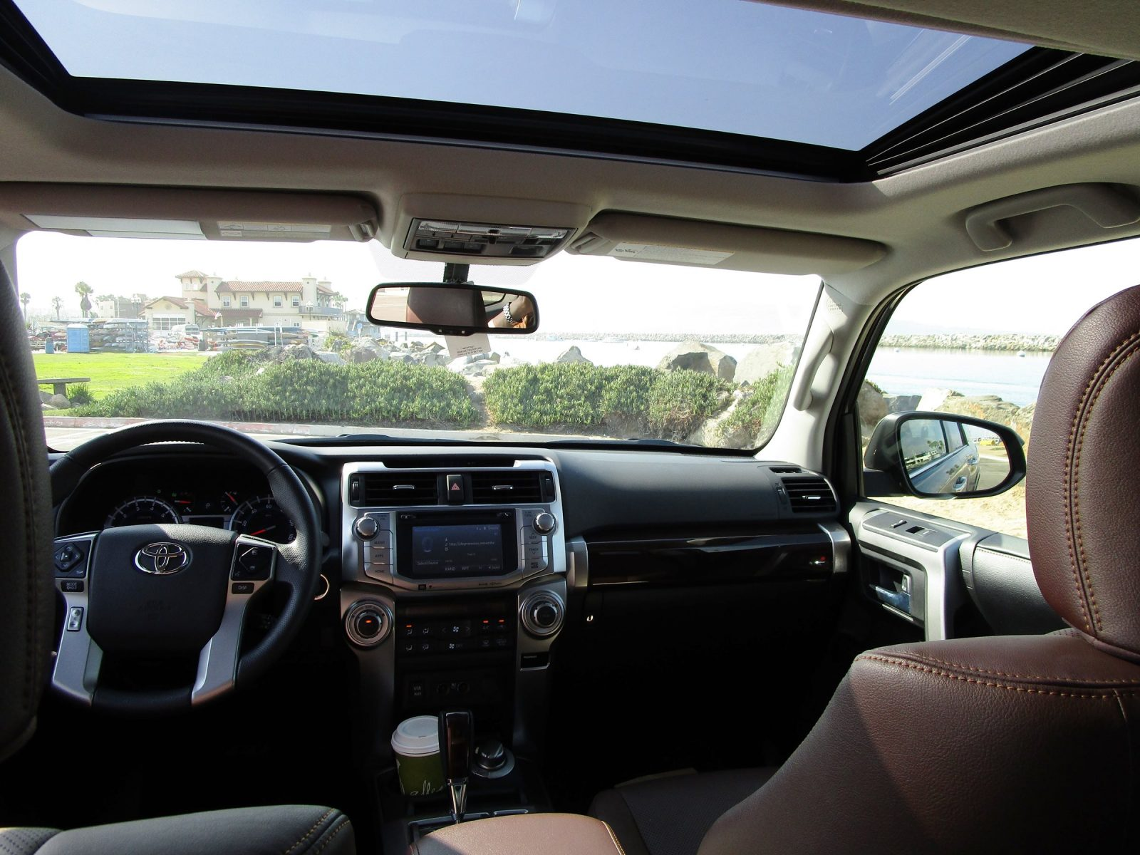 2017 Toyota 4runner Limited Interior 14