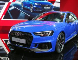 174MPH 2018 Audi RS4 Avant Is Frankfurts Designated Badass Wagon