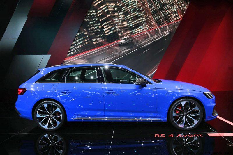 MPH Audi RS Avant Is Frankfurts Designated Badass Wagon - 2018 audi rs4