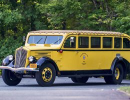 1937 Ford Yellowstone Park Tour Bus by Bender – 2017 RM Hershey Curio