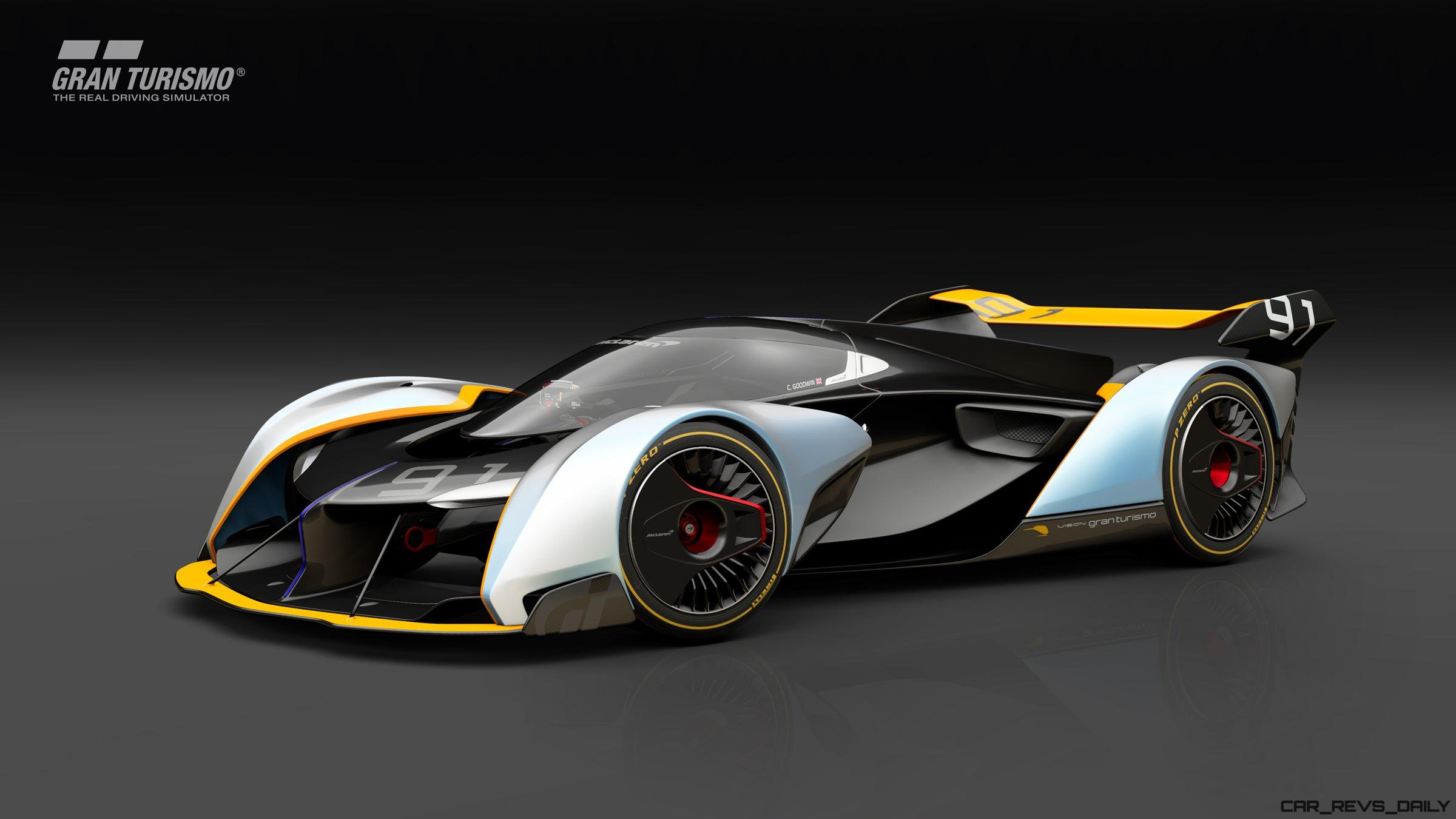 2017 mclaren ultimate vision gt for ps4 gran turismo sport is go. Black Bedroom Furniture Sets. Home Design Ideas