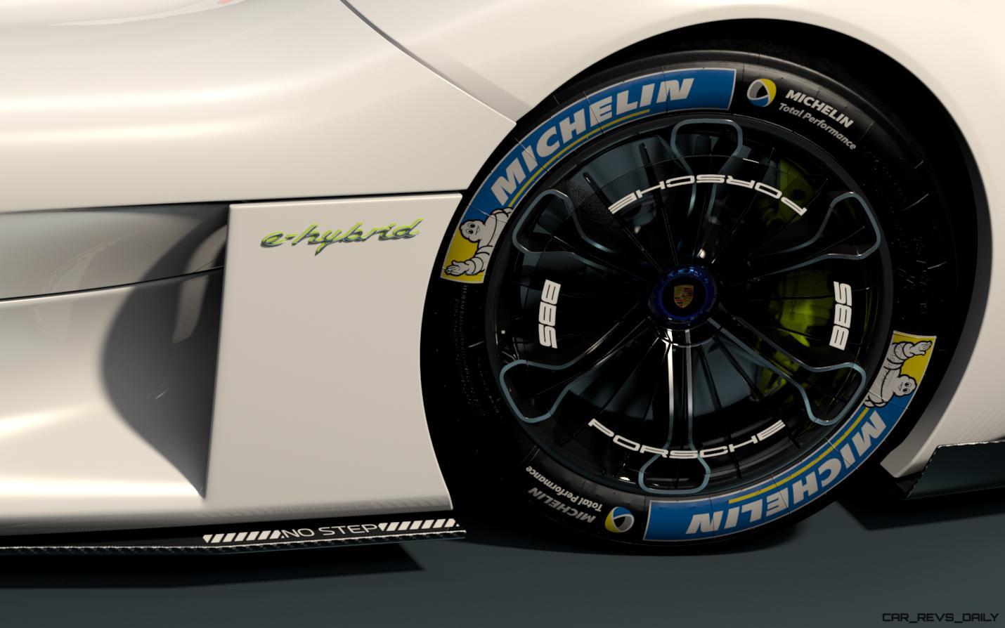 Creating The Porsche Sedan – 1988 Porsche 989 Panamera, 1991 Porsche 932, 1987 928 Studie and 1968 911 4-Door