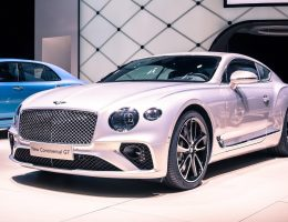 2019 Bentley Continental GT Flaunts Stunning New Stance, Cabin at IAA