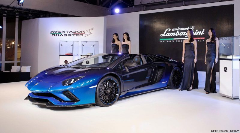 2018 lamborghini aventador s roadster japan 50th anniversary specials