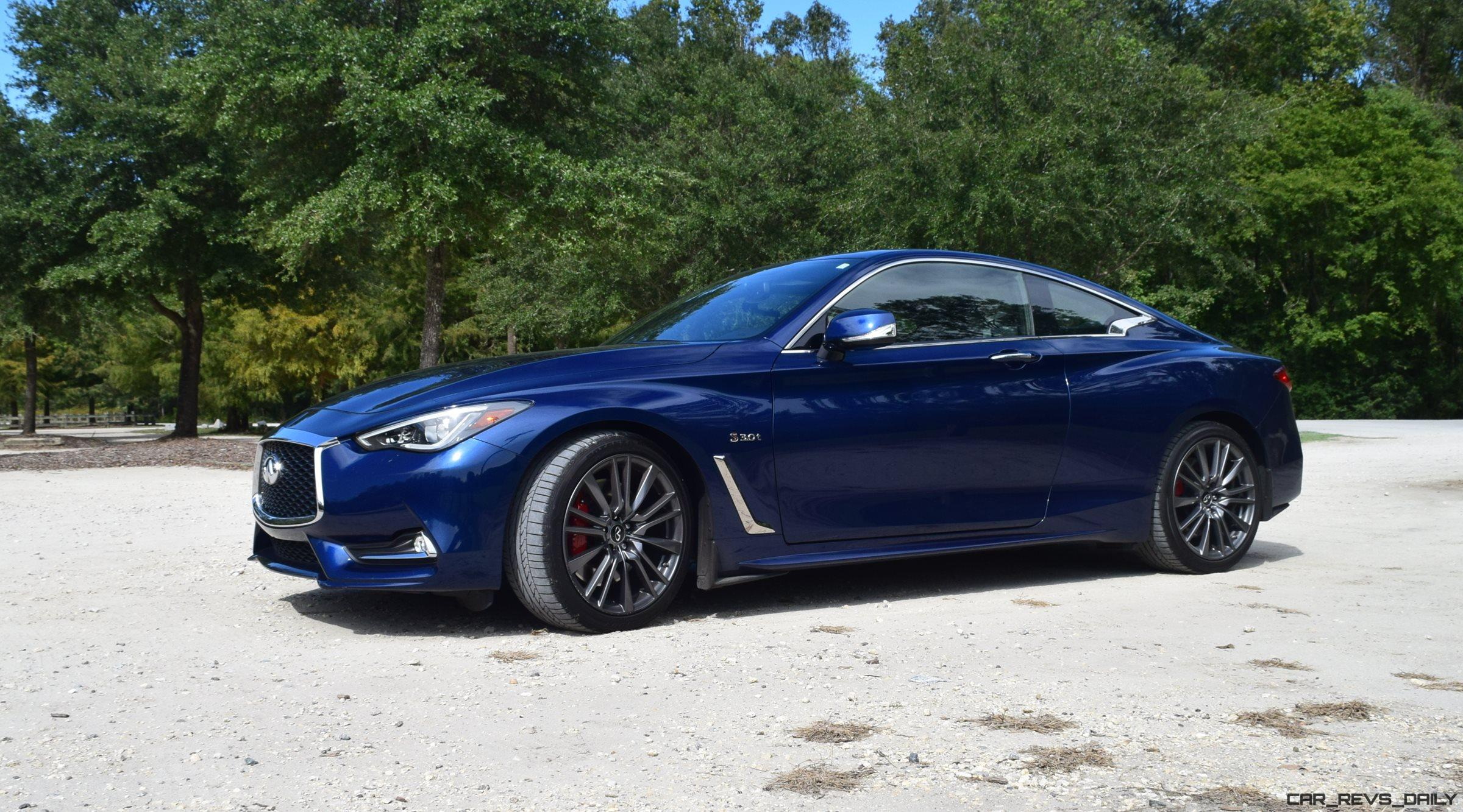 2017 infiniti q60 red sport 400 road test review drive videos car shopping. Black Bedroom Furniture Sets. Home Design Ideas