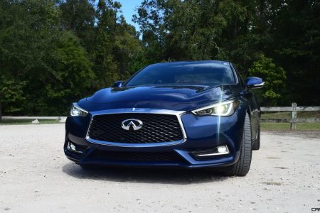 2017 Infiniti Q60 Red Sport 400 Road Test Review Drive Videos