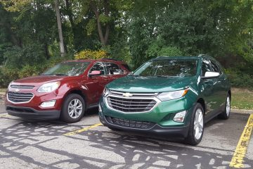 Old vs New – 2018 Chevrolet Equinox vs 2017 Chevrolet Equinox – By Carl Malek