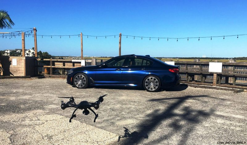 2018 BMW M550i - HD Road Test Review 71