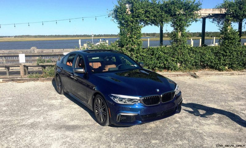 2018 BMW M550i - HD Road Test Review 74