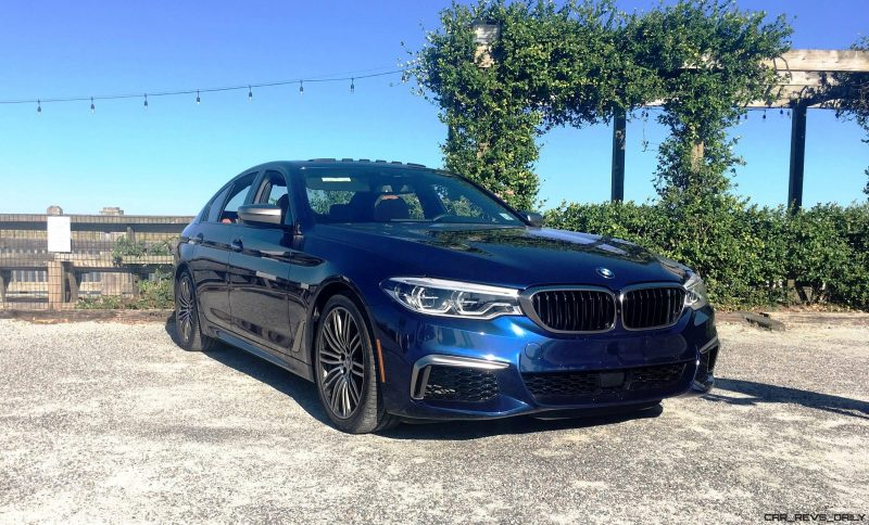2018 BMW M550i - HD Road Test Review 75