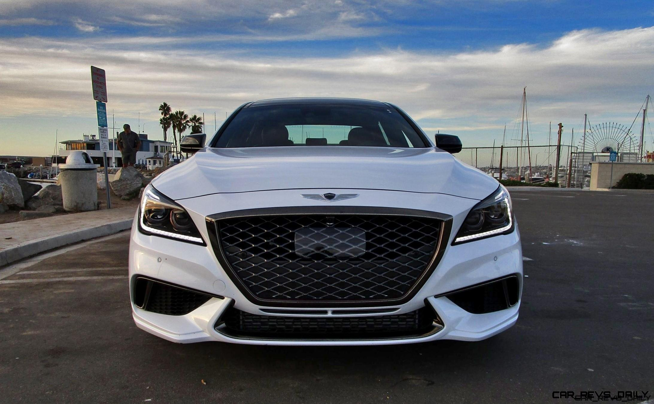2018 Genesis G80 Sport Awd 3 3t Road Test Review By Ben Lewis