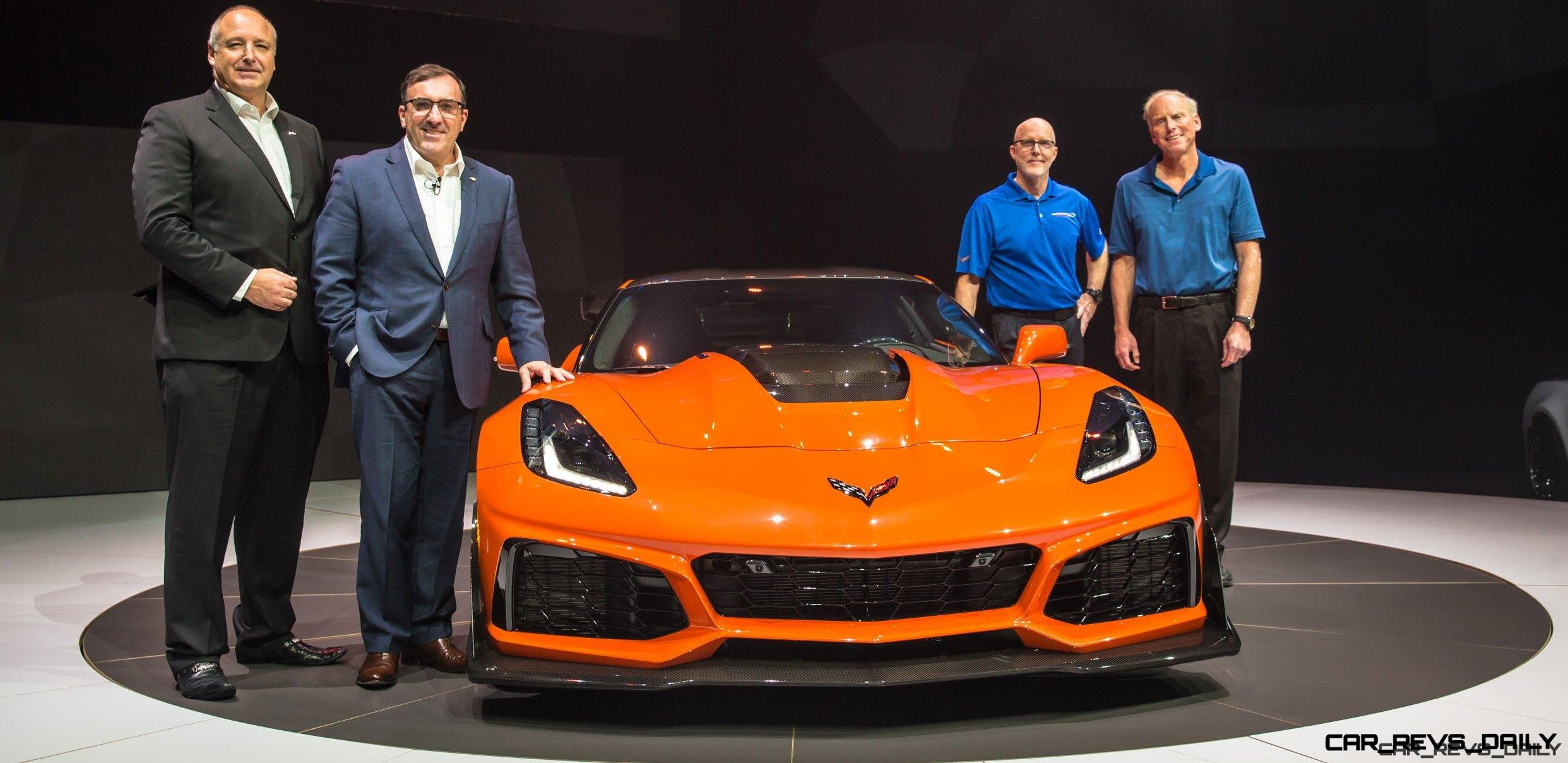 215MPH, 2.2s 2019 Chevrolet Corvette ZR1 Steals LA Auto Show