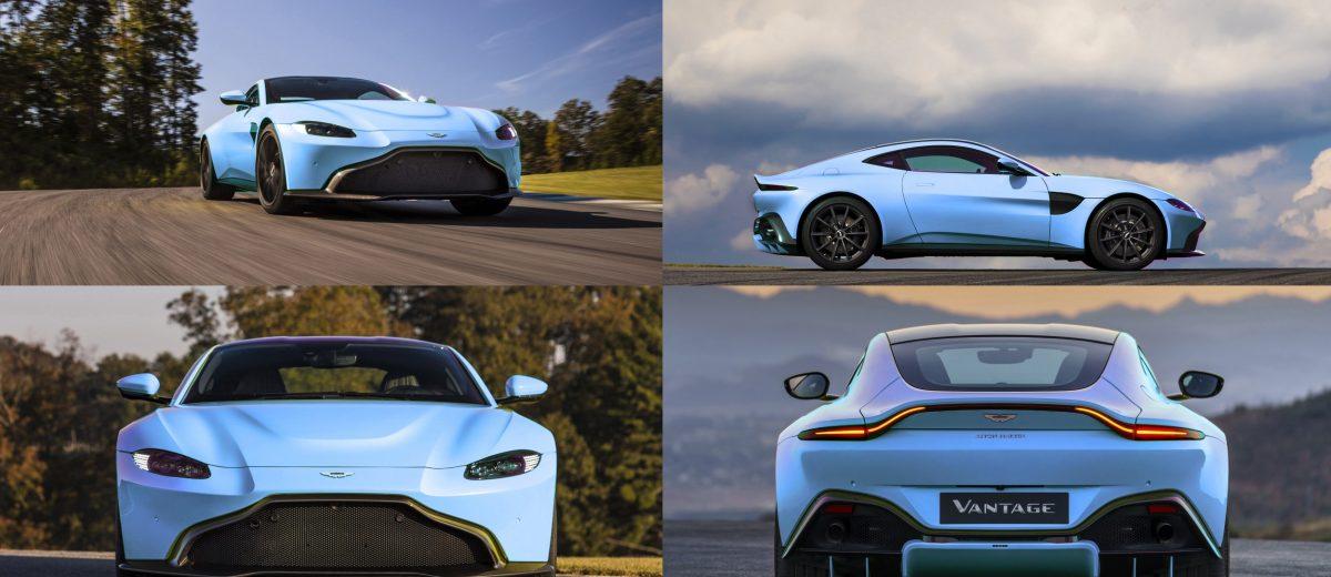 Aston Martin VANTAGE Fantasy Colorizer In Candy Paints - 2018 aston martin vantage