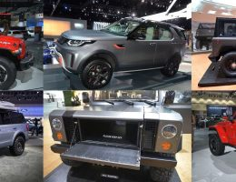 Top 4 Hardcore Off-Road Debuts – Los Angeles 2017 Auto Showfloor