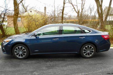 2017 Toyota Avalon Hybrid Xle Premium Road Test Review By Ken Hawkeye Glman