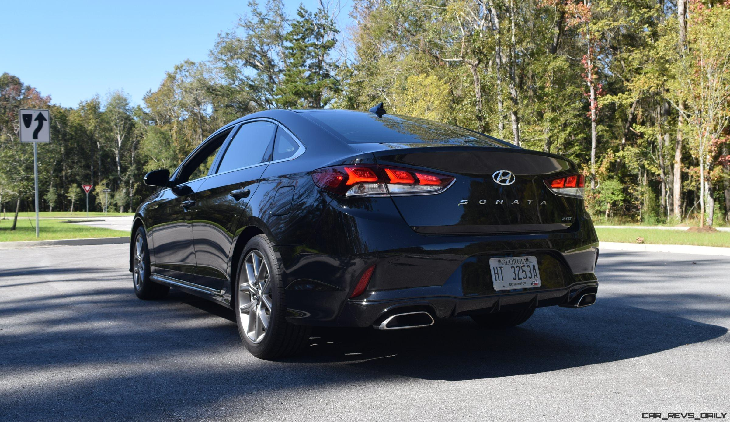2018 Hyundai SONATA Limited 20T Road Test Review W