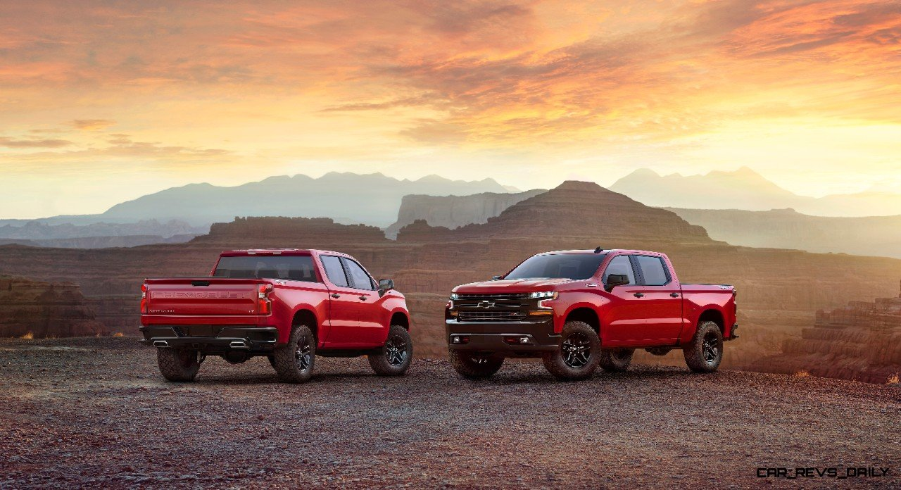 The All new 2019 Chevrolet Silverado Was Introduced At An