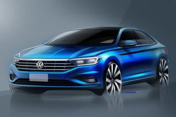 Volkswagen Teases 2019 Jetta Ahead of NAIAS