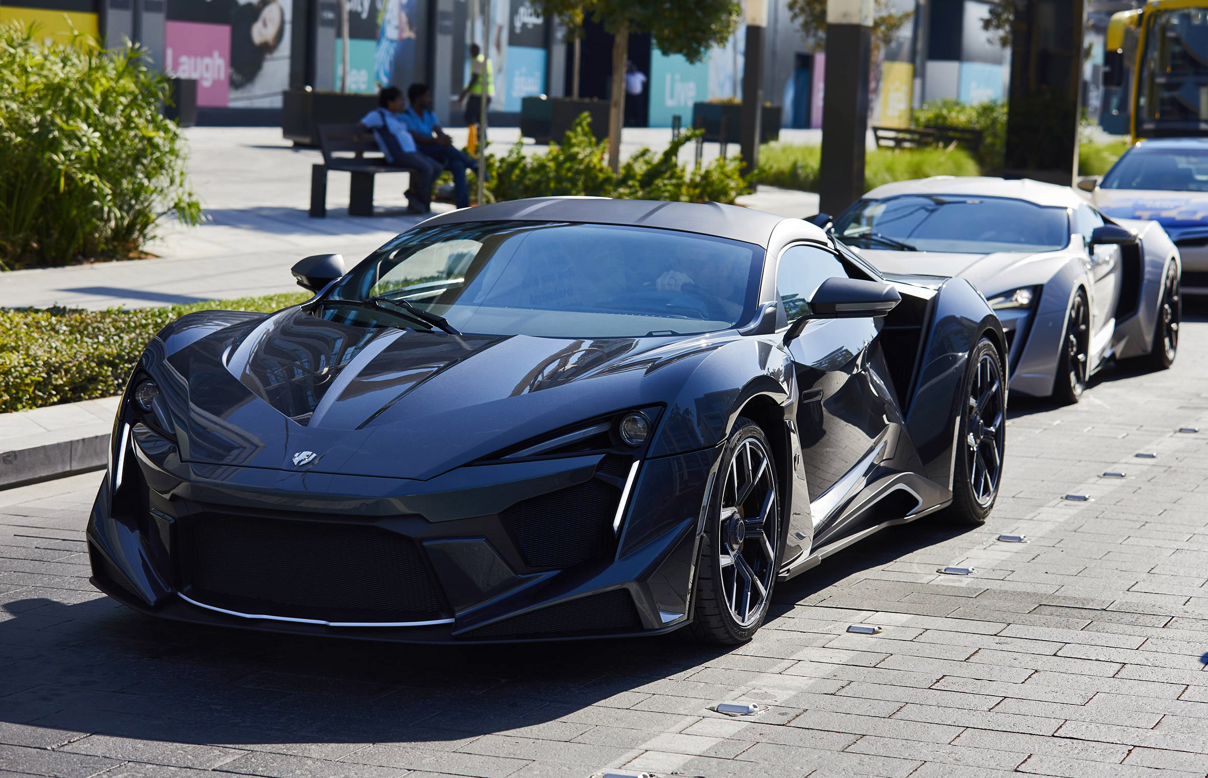 Lykan Hypersport Car >> W Motors Fenyr SuperSport + Lykan HyperSport