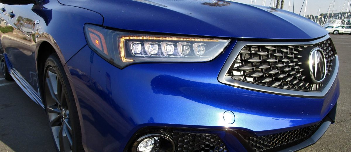Acura TLX ASpec V SH AWD Road Test Review By Ben Lewis - 2018 acura tsx headlights