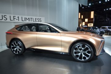 NAIAS 2018 Debut – Lexus LF-1 Limitless Concept – GS-Sized F-SUV of Future
