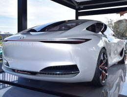 2018 INFINITI Q Inspiration Concept – Photo & Video Flyaround