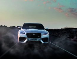 Jaguar Unveils Fire Breathing 550 Horsepower F-Pace SVR [Video]