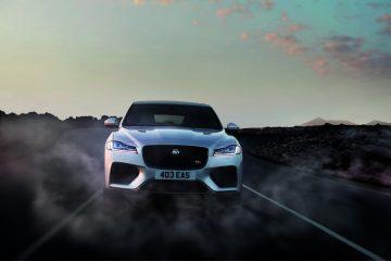 Jaguar Unveils Fire Breathing 550 Horsepower F-Pace SVR [Video]
