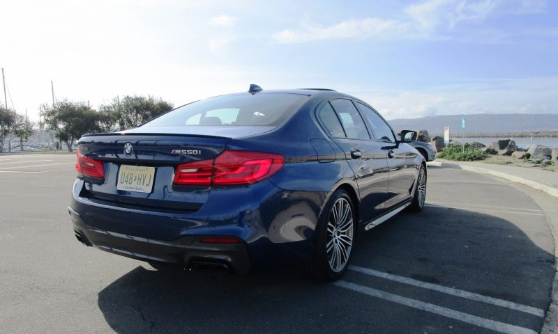 2018 BMW M550i xDrive Sedan Ben Lewis 8