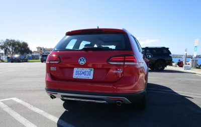 2018 VW Golf Alltrack Exterior 13