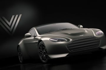 """Aston Martin Unveils Limited Edition """"V600"""" Vantage, Model Customer Commissioned Special"""
