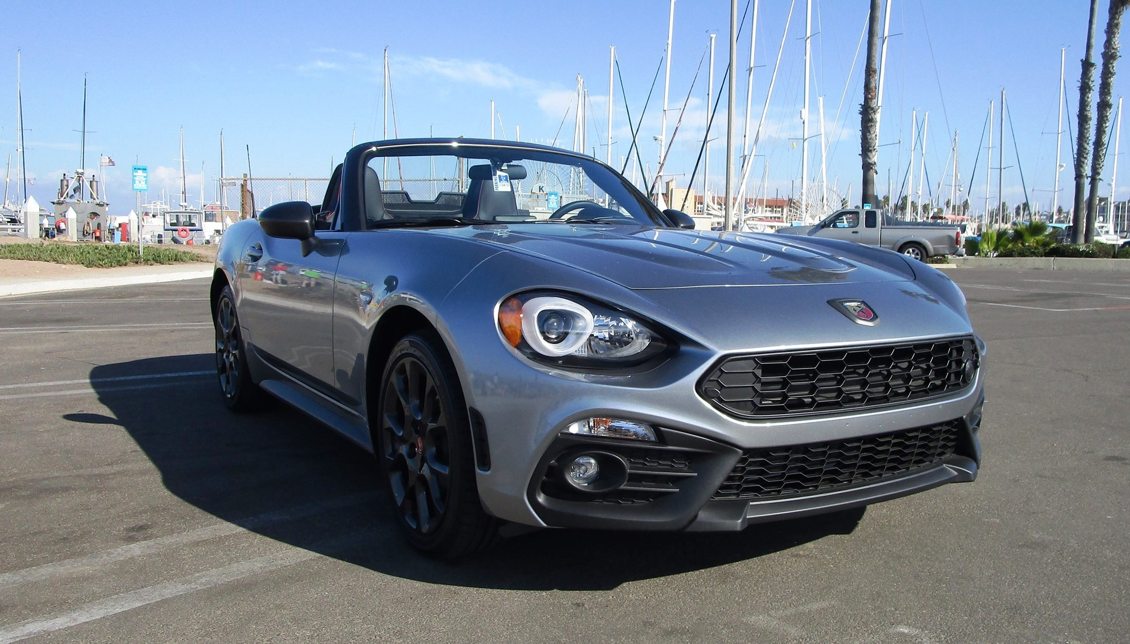 2018 fiat 124 spider abarth road test review by ben. Black Bedroom Furniture Sets. Home Design Ideas