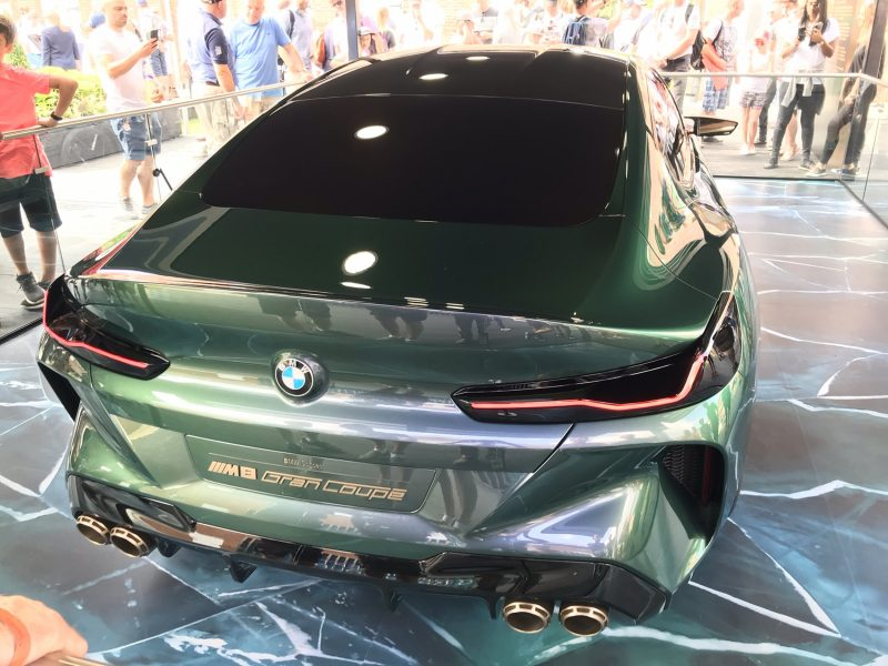 2018 BMW M8 Concept Gran Coupe 10