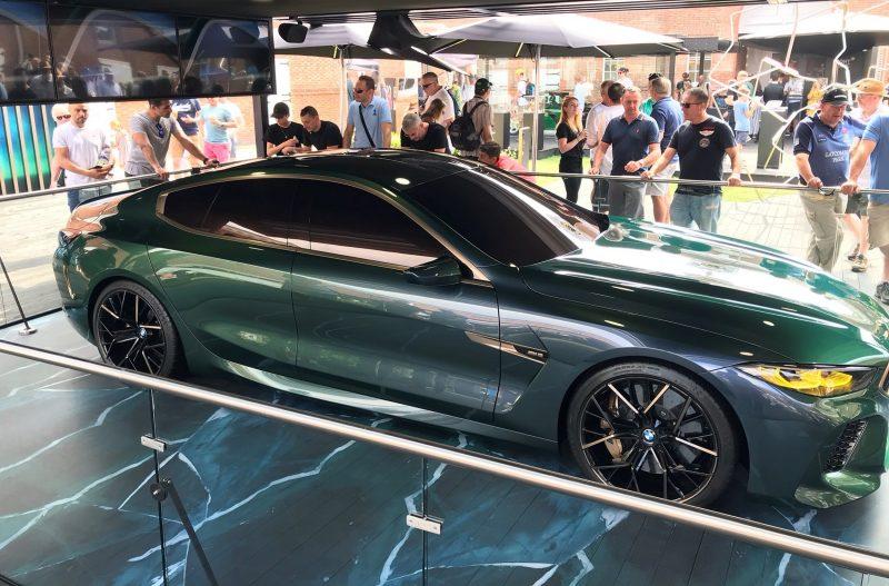 2018 BMW M8 Concept Gran Coupe 11