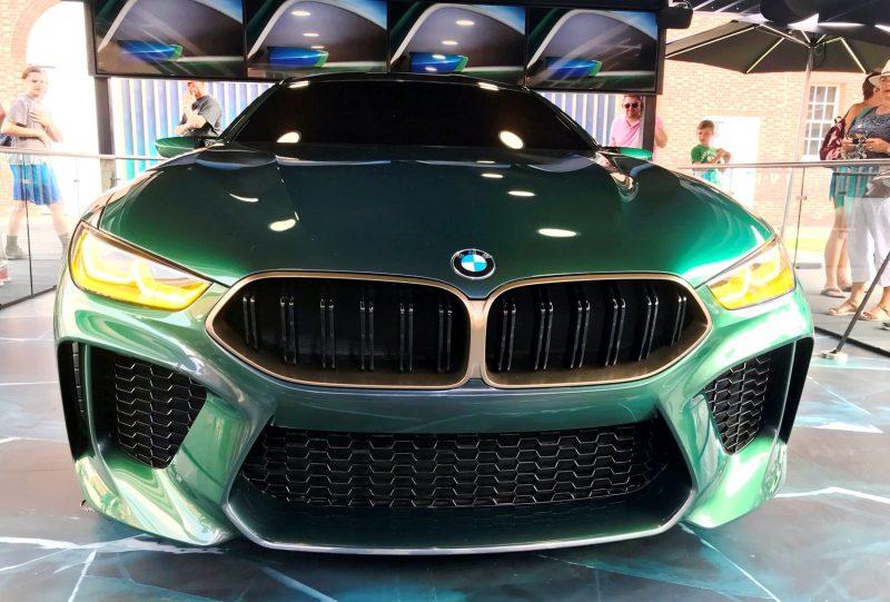 2018 BMW M8 Concept Gran Coupe 12